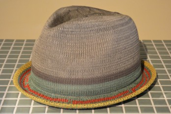 thermo hat grey